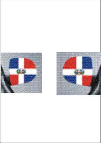 images/Dominican Republic car mirror flag