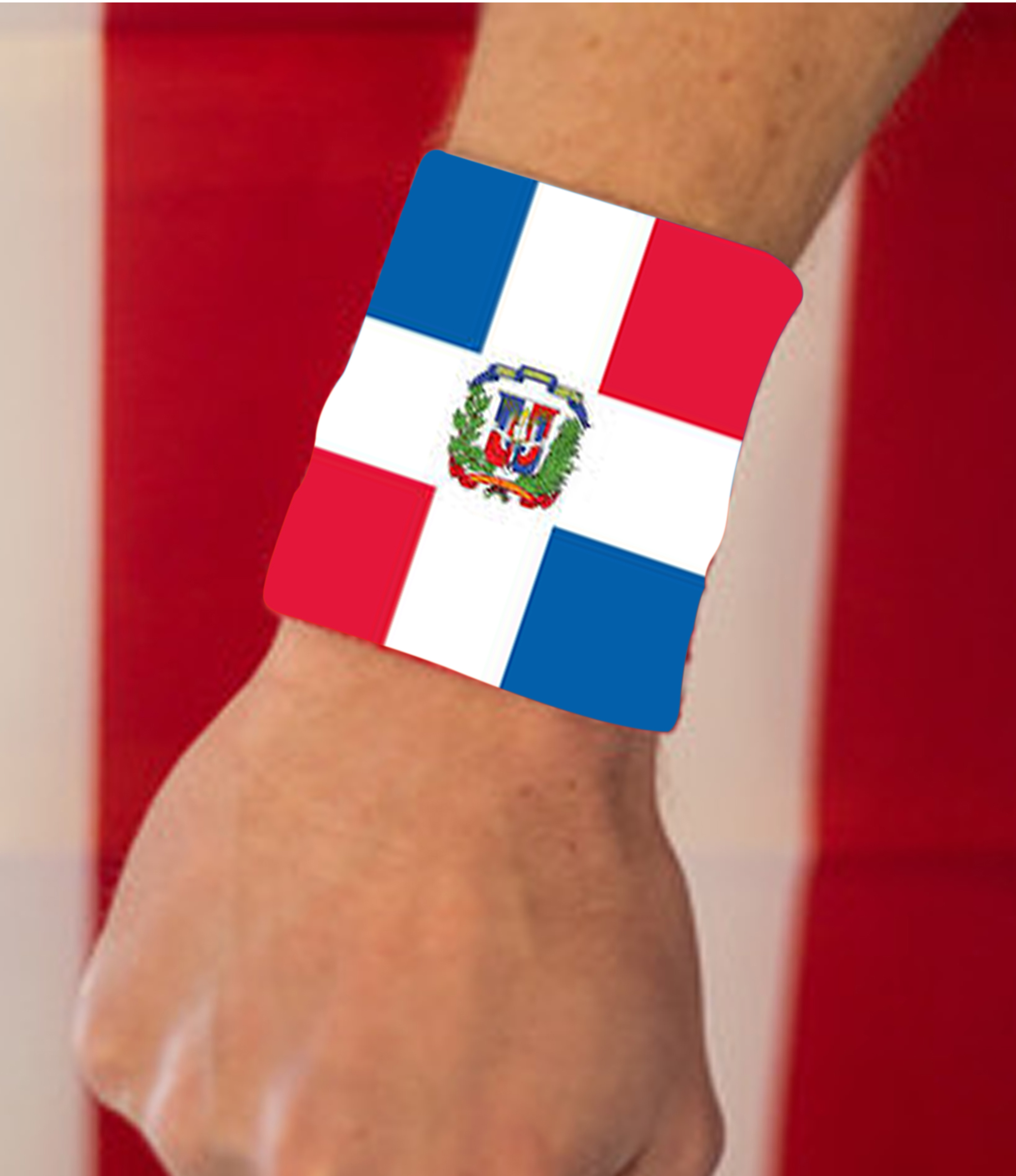 images/Dominican Republic image hand band