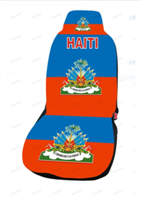 haiti car cover seat flag. Black Bedroom Furniture Sets. Home Design Ideas