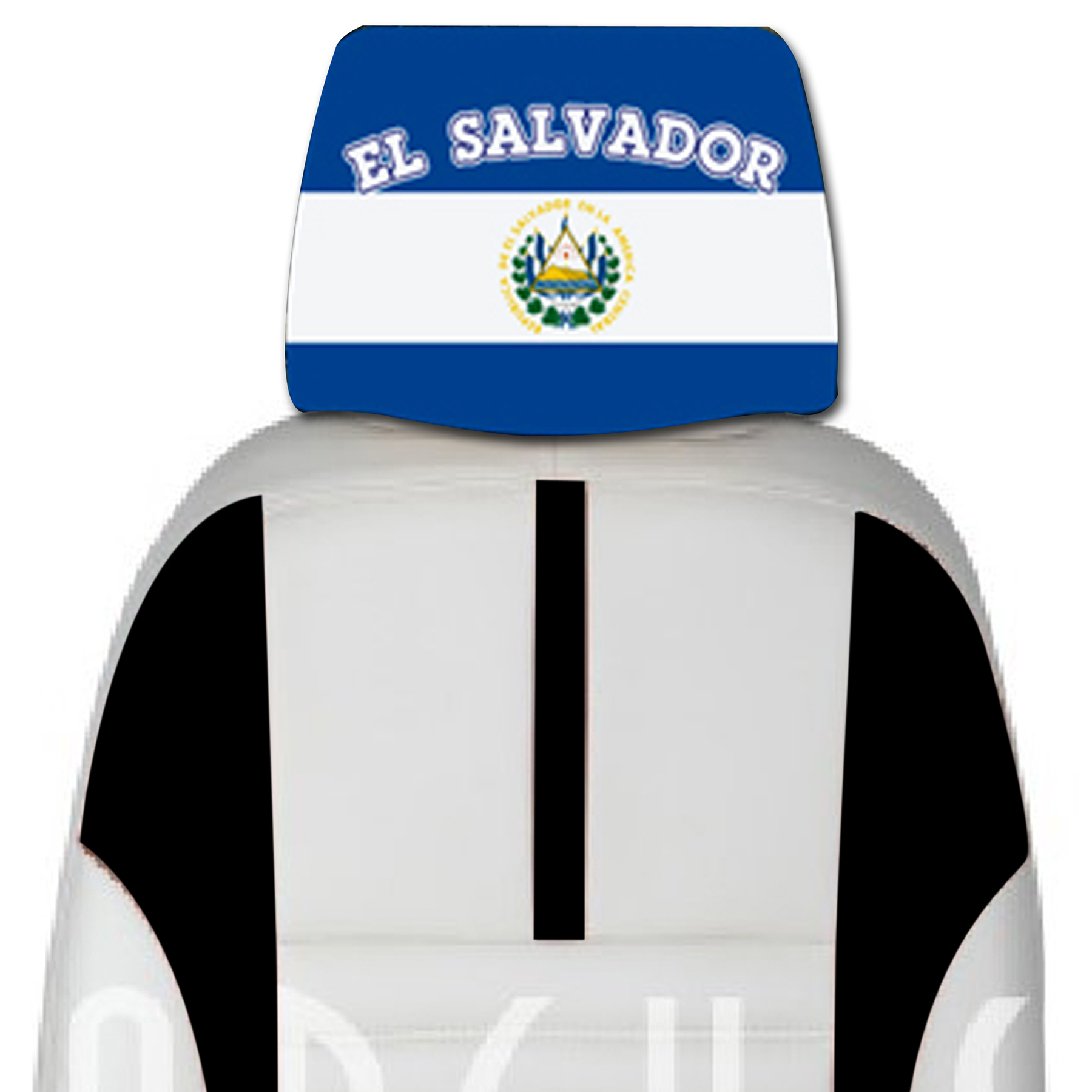 el salvador car cover seat flag. Black Bedroom Furniture Sets. Home Design Ideas