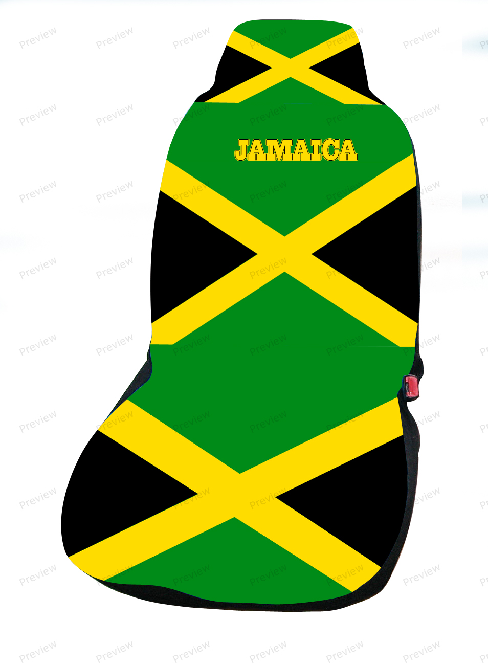 jamaica car cover seat flag. Black Bedroom Furniture Sets. Home Design Ideas