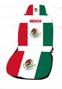 mexico car cover seat flag. Black Bedroom Furniture Sets. Home Design Ideas