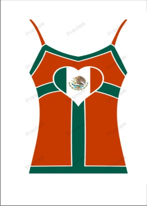 images/Mexico image t-shirt for women.jpg