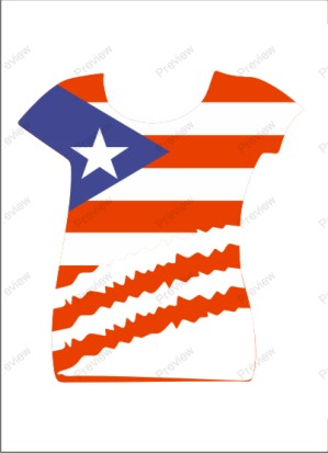 images/Puerto Rico image t-shirt for women.jpg